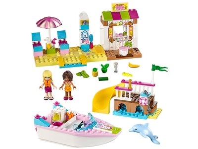 d0421657470 LEGO Andrea   Stephanie s Beach Holiday (10747). Now € 22.99 at  Click brick