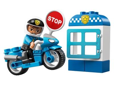LEGO La moto de police (10900)
