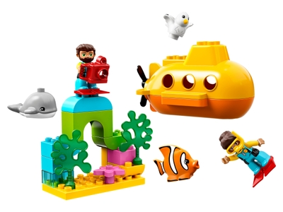 LEGO L'aventure en sous-marin (10910)