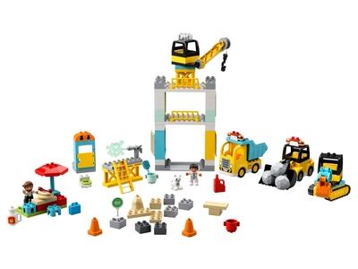 LEGO Tower Crane & Construction (10933)