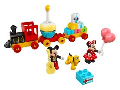 LEGO Le train d'anniversaire de Mickey et Minnie (10941)