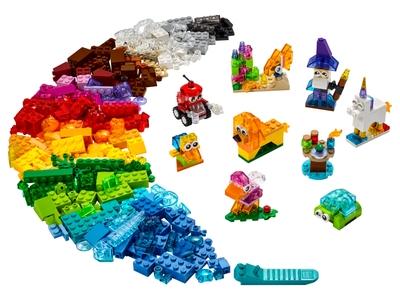 LEGO Creatieve transparante stenen (11013)