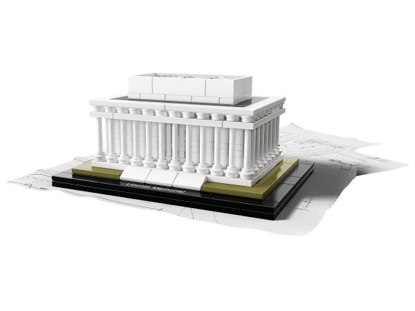 Lego Lincoln Memorial 21022 Brickwatch Netherlands Lego