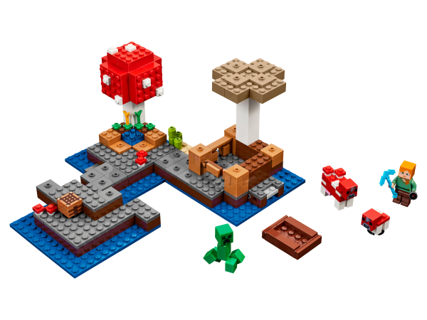 LEGO Minecraft 21129 Die Pilzinsel The Mushroom Island Le biome champignon