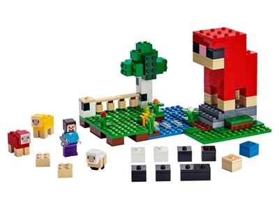 LEGO De schapenboerderij (21153)