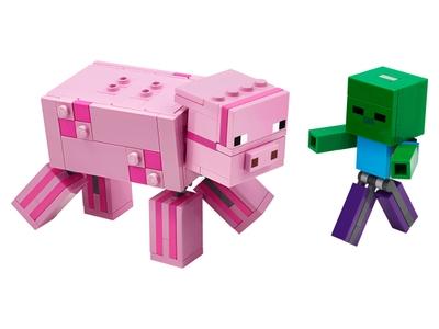 LEGO BigFig Varken met Babyzombie (21157)