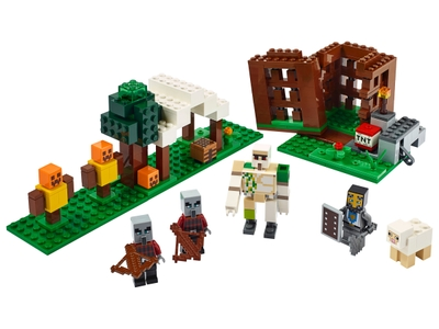 LEGO L'avant-poste des pillards (21159)