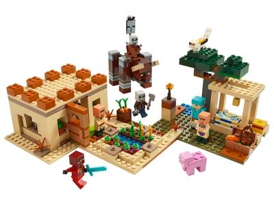 LEGO Der Illager-Überfall (21160)
