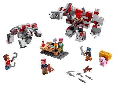 LEGO La bataille de la Pierre rouge (21163)