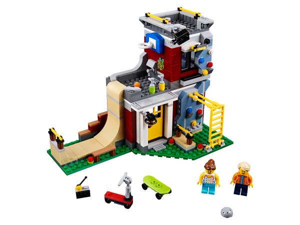 Jeu de Construction Le skate park 31081 LEGO Creator