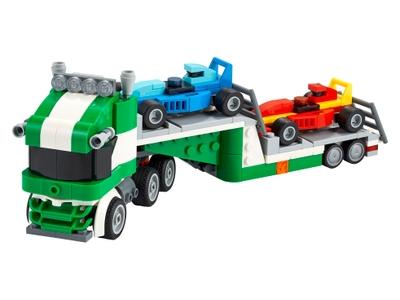 LEGO Le transporteur de voitures de course (31113)
