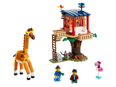 LEGO Safari Wildlife Tree House (31116)