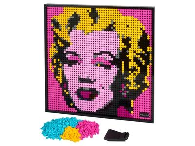 LEGO Andy Warhol's Marilyn Monroe (31197)