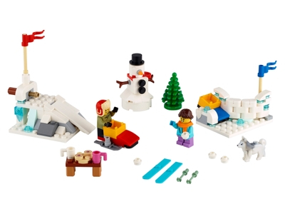 LEGO Winter Snowball Fight (40424)