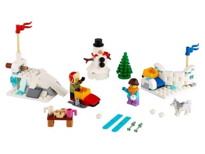 LEGO Bataille de boules de neige (40424)