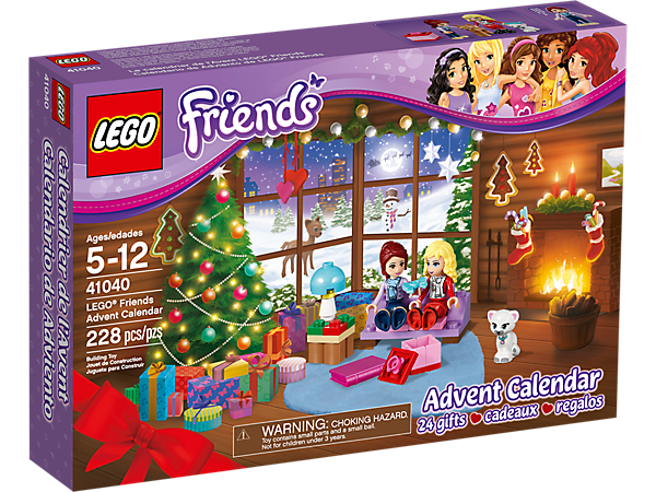 Weihnachtskalender Lego Friends.Lego Friends Advent Calendar 41040