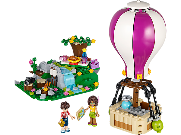 LEGO ® Friends set 41097//heatlake en montgolfière