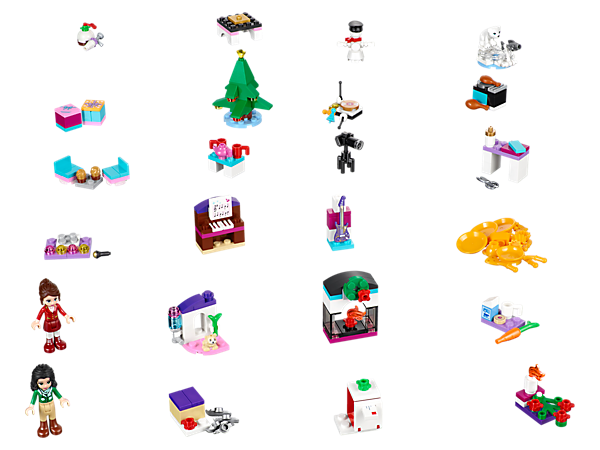 Lego Friends Calendrier De L Avent.Lego Friends Advent Calendar 41131