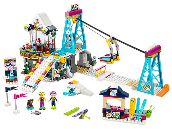 LEGO Friends Snow Resort Ski Lift Set #41324