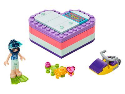 LEGO La boîte cœur d'été d'Emma (41385)