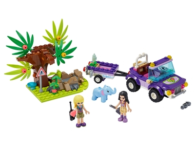 LEGO Baby Elephant Jungle Rescue (41421)