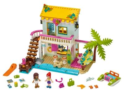 LEGO Strandhaus mit Tretboot (41428)