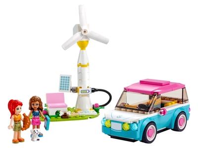 LEGO Olivia's elektrische auto (41443)