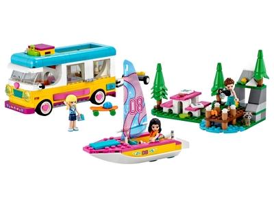 LEGO Forest Camper Van and Sailboat (41681)
