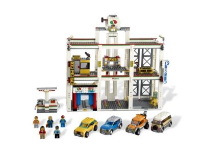 Lego City Garage : Lego city garage brickwatch deutschland lego pricewatch