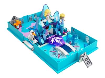 LEGO Les aventures d'Elsa et Nokk dans un livre de contes (43189)
