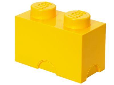LEGO® gele opslagsteen met 2 noppen (5003570)