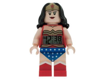 LEGO® DC Comics Super Heroes Wonder Woman™ Minifigure Alarm Clock (5004538)