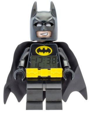 LEGO THE LEGO® BATMAN MOVIE Batman™ Minifigure Alarm Clock (5005335)