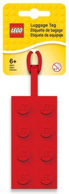 LEGO 2x4 Red Luggage Tag (5005542)