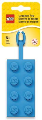 LEGO 2x4 Blue Luggage Tag (5005543)