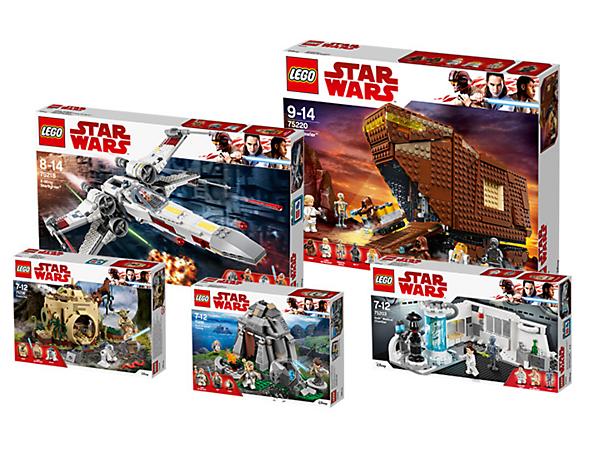 Lego Star Wars Life Of Luke Skywalker Bundle 5005754