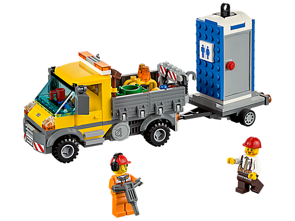 LEGO 60073 LE CAMION GRUE CITY