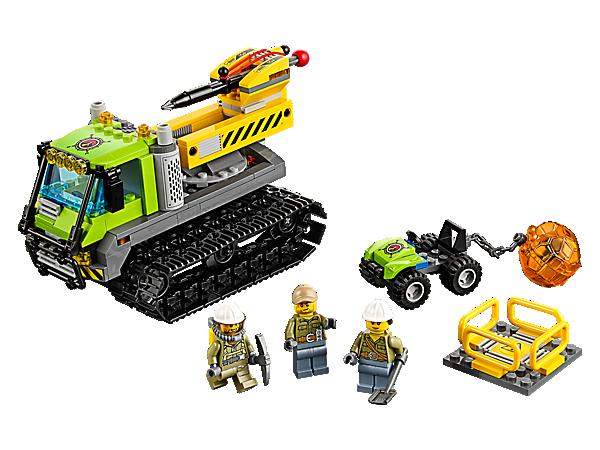 LEGO CITY 60122 CINGOLATO VULCANICO