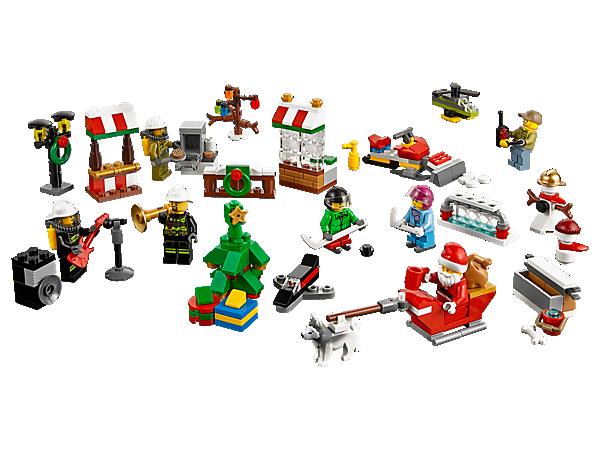 Calendrier De L Avent Lego City 2020.Lego Calendrier De L Avent Lego City 60133
