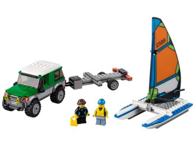 LEGO 4x4 with Catamaran (60149)
