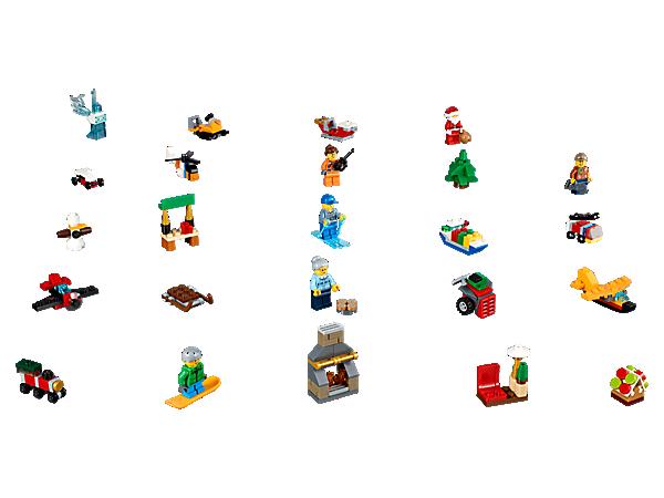 Calendrier Lego City.Lego City Advent Calendar 60155