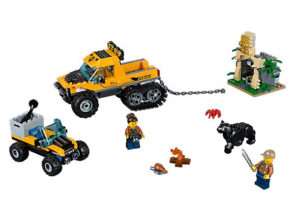 L/'EXCURSION DANS LA JUNGLE CITY LEGO 60159