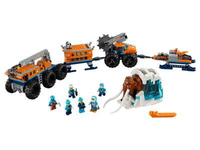 LEGO Mobiele onderzoeksbasis op de Noordpool (60195)