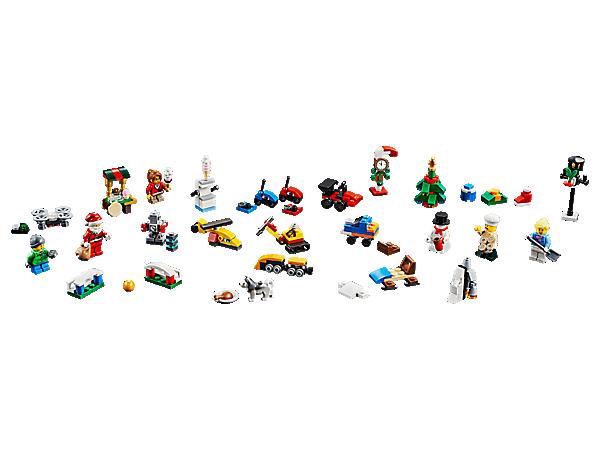 Calendrier Lego City.Lego City Advent Calendar 60201