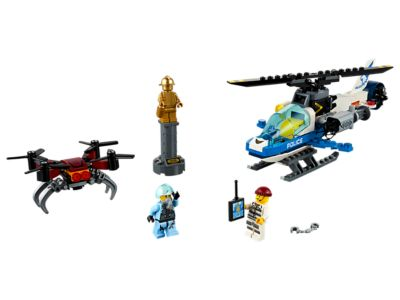 LEGO Luchtpolitie drone-achtervolging (60207)