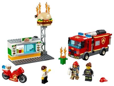 LEGO Feuerwehreinsatz im Burger-Restaurant (60214)