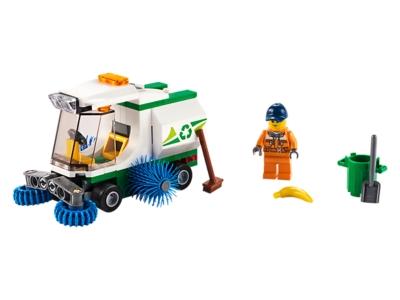 LEGO La balayeuse de voirie (60249)