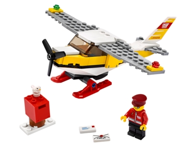 Lego City Pilot mini figure FREE POST