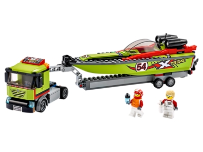 LEGO Race Boat Transporter (60254)