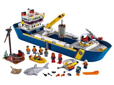 LEGO Ocean Exploration Ship (60266)